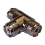 PL-259 Female T Plug