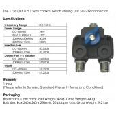 Benelec 2 Pos Antenna Switch (SO-239)