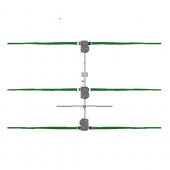steppIR 3 Element 6-20m Yagi (SDA 100 Controller)