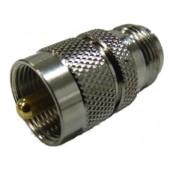 PL-259 Plug To N Female Socket