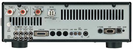 FTDX3000 Rear Panel